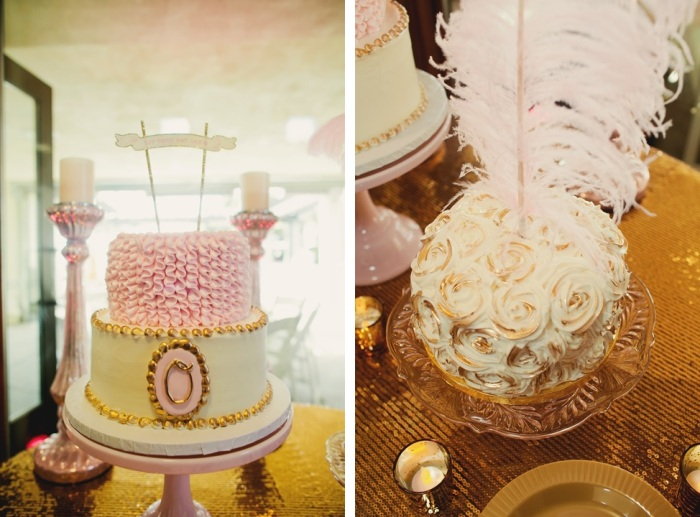 cake banner, french-Darcy Oliver Design