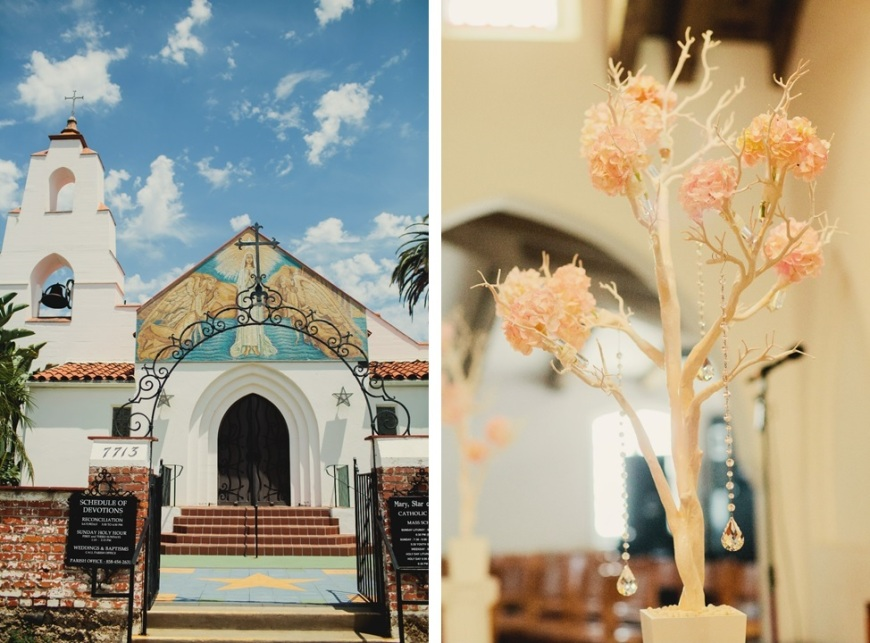 ceremony decor, church wedding-Darcy Oliver Design