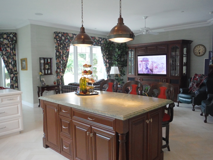 Kitchen Island-Darcy Oliver Design