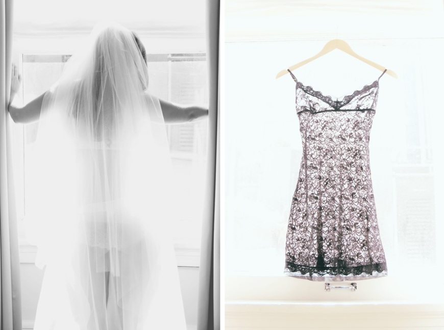 bridal boudoir, veil, slip-Darcy Oliver Design