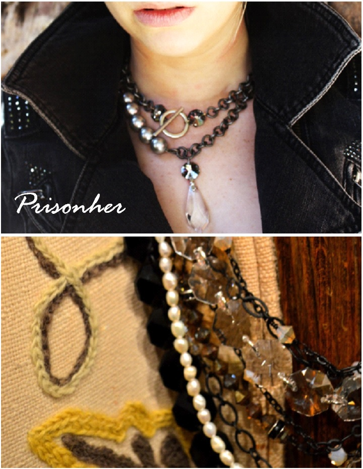 Prisonher, necklaces-Darcy Oliver Design