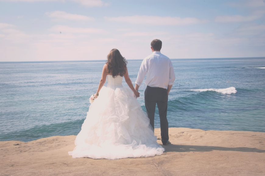 Wedding Dress, Beach Cliffs-Darcy Oliver Design
