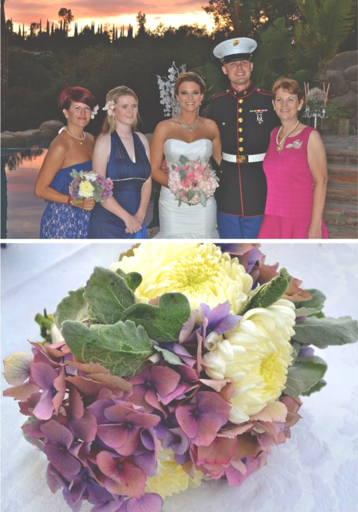 Bridal Party, bouquets-Darcy Oliver Design