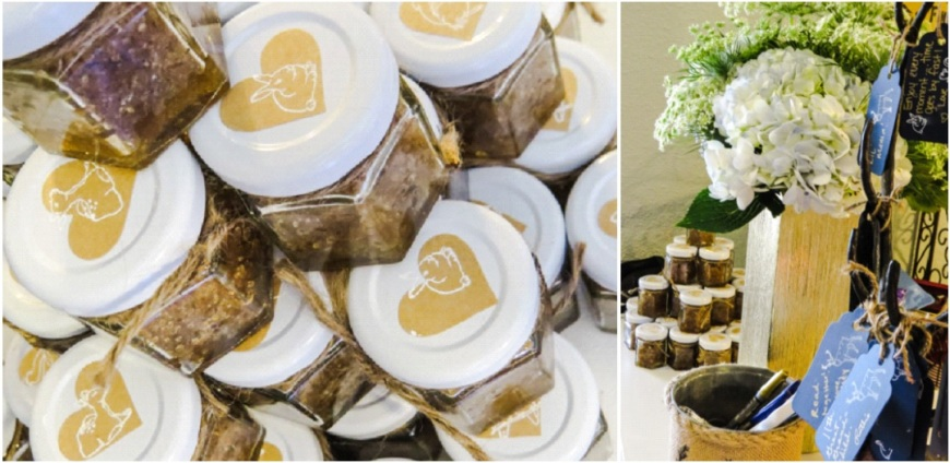 Sugar Scrub Favors-Darcy Oliver Design