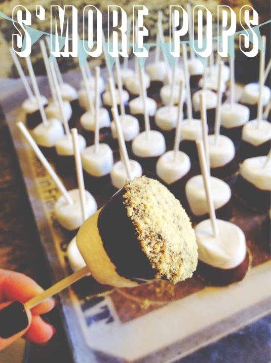 smore pops, dessert, candy, chocolate-Darcy Oliver Design