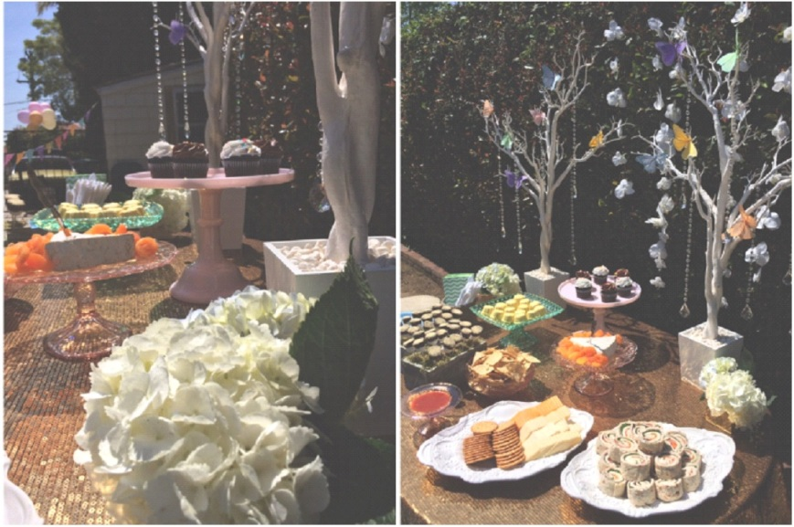 Party Table, Sweets, Snacks, Party Food-Darcy Oliver Design