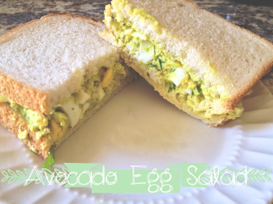 Avocado Egg Salad-Darcy Oliver Design