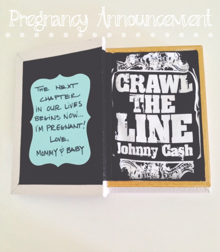 Pregnancy Announcement, Baby, Johnny Cash, Onesie-Darcy Oliver Design