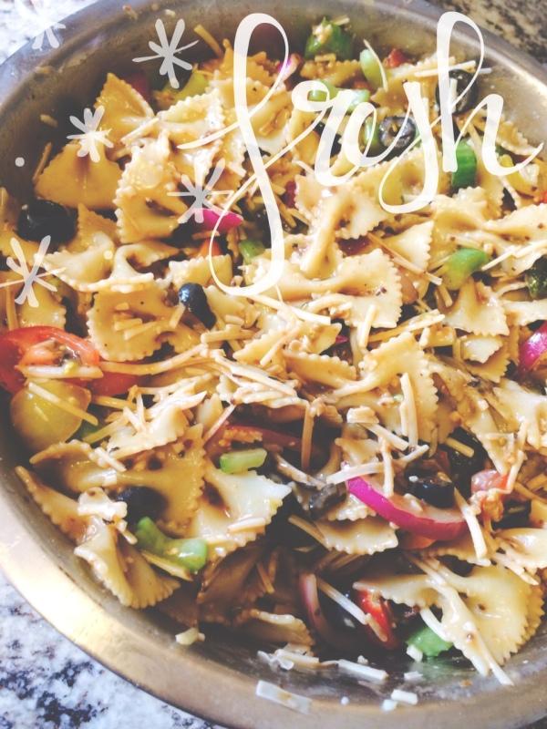 Rustic Italian Pasta Salad