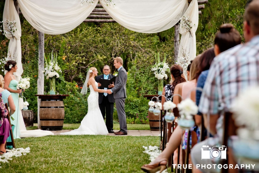 Wedding Ceremony, Floral Arrangements-Darcy Oliver Design