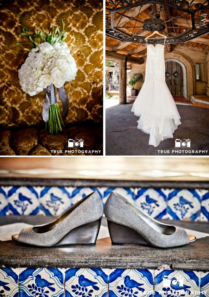 Wedding Dress, Wedges, Wedding Bouquet-Darcy Oliver Design