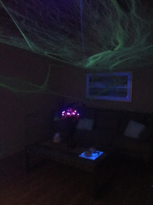 glow in the dark webs-Darcy Oliver Design