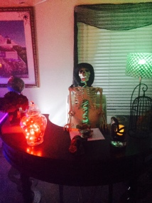 mad scientist, halloween decor-Darcy Oliver Design