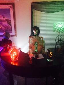 mad scientist, halloween decor-Darcy Oliver Design