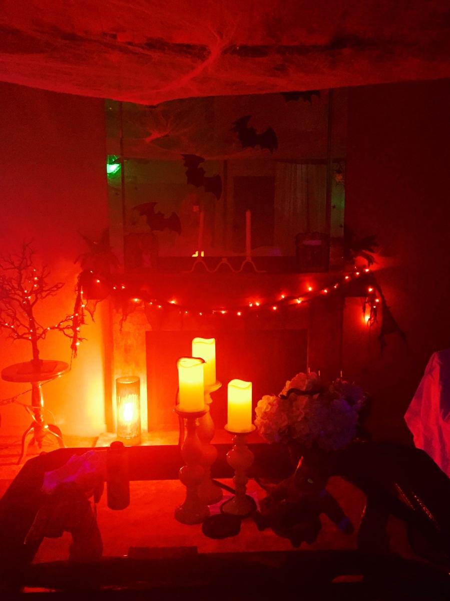halloween lighting, candles-Darcy Oliver Design