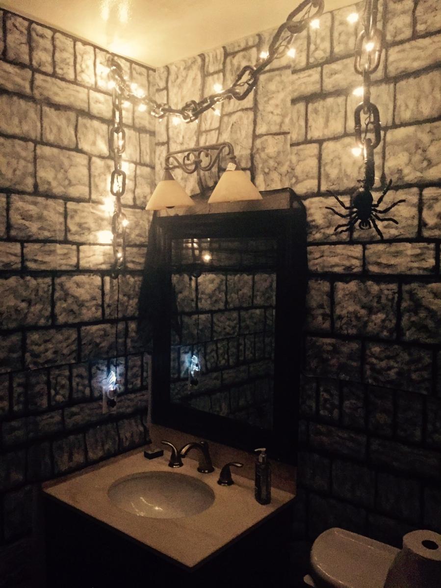 dungeon bathroom decor-Darcy Oliver Design