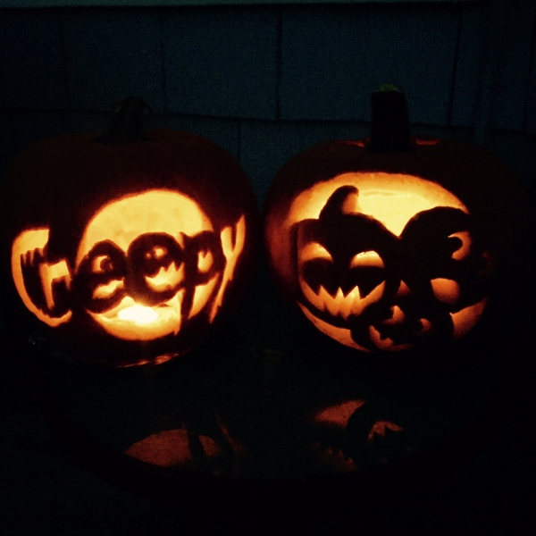 jack o lanterns, halloween, pumpkins-Darcy Oliver Design