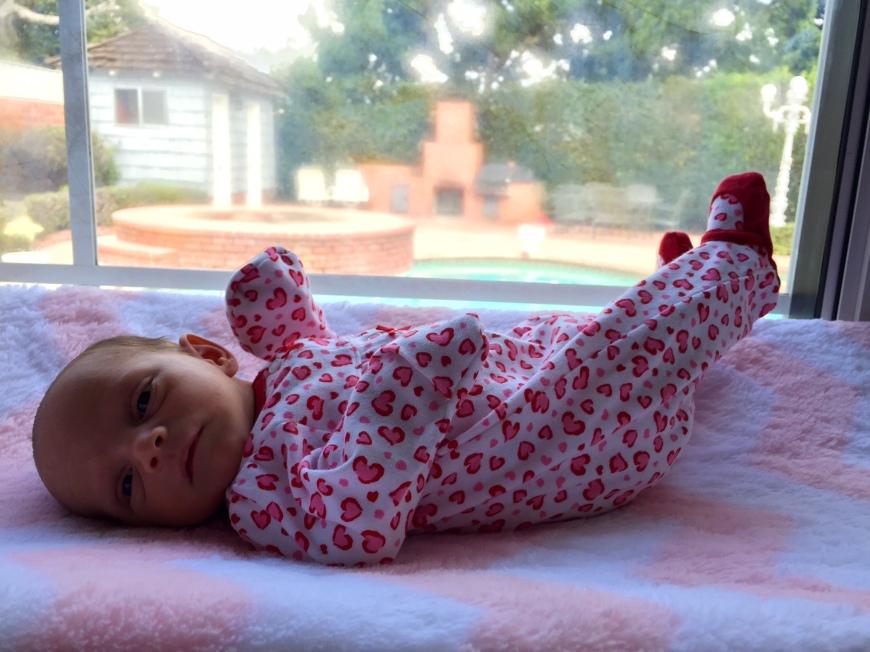 changing station, baby girl-Darcy Oliver Design