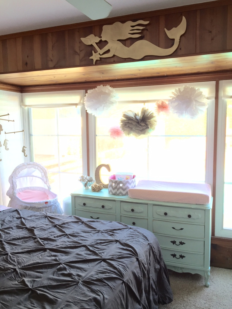 mermaid nursery-Darcy Oliver Design