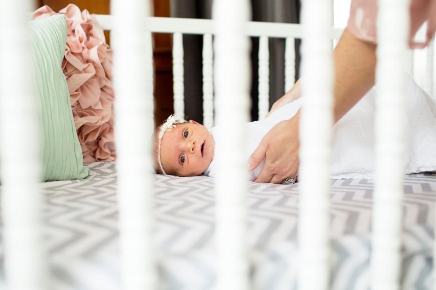 baby crib, nursery-Darcy Oliver Design
