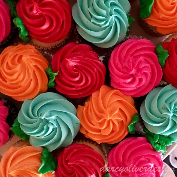 Rose Cupcakes-darcyoliverdesign
