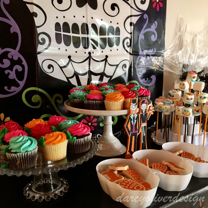 More Treats & Sugar Skull Marshmallows-darcyoliverdesign