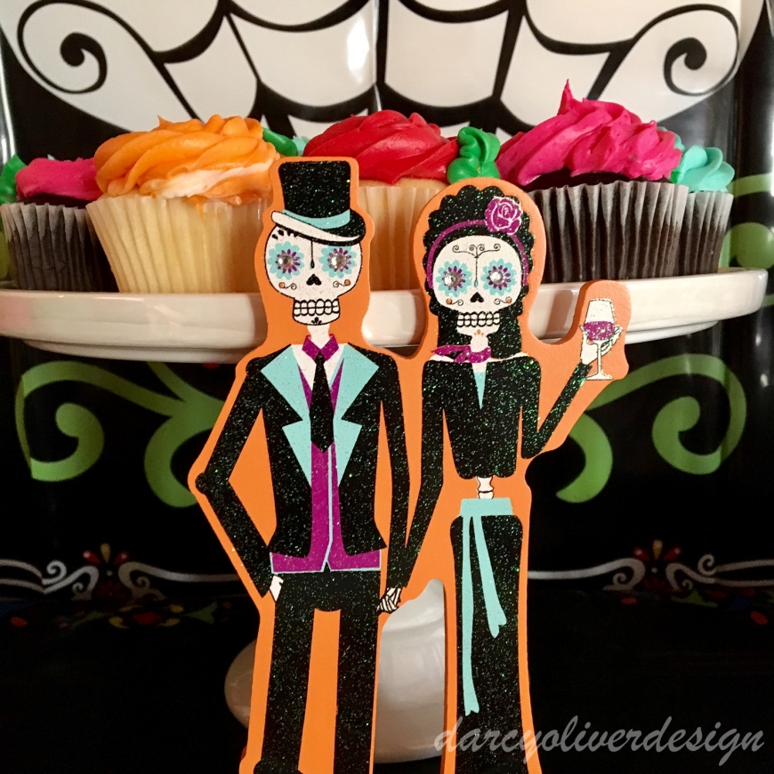 sugar skull decor-darcyoliverdesign