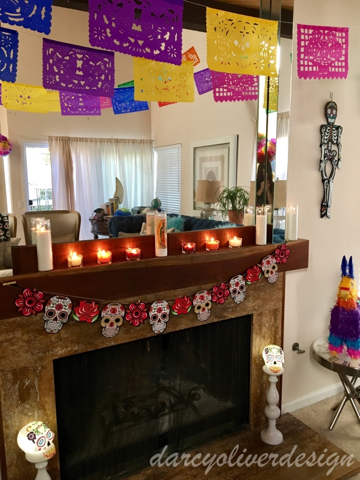 Day of the Dead Decor-darcyoliverdesign