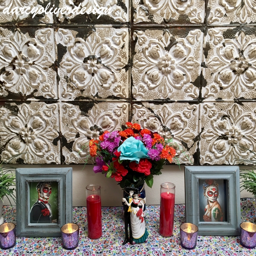 Mini Day of the Dead Altar-darcyoliverdesign