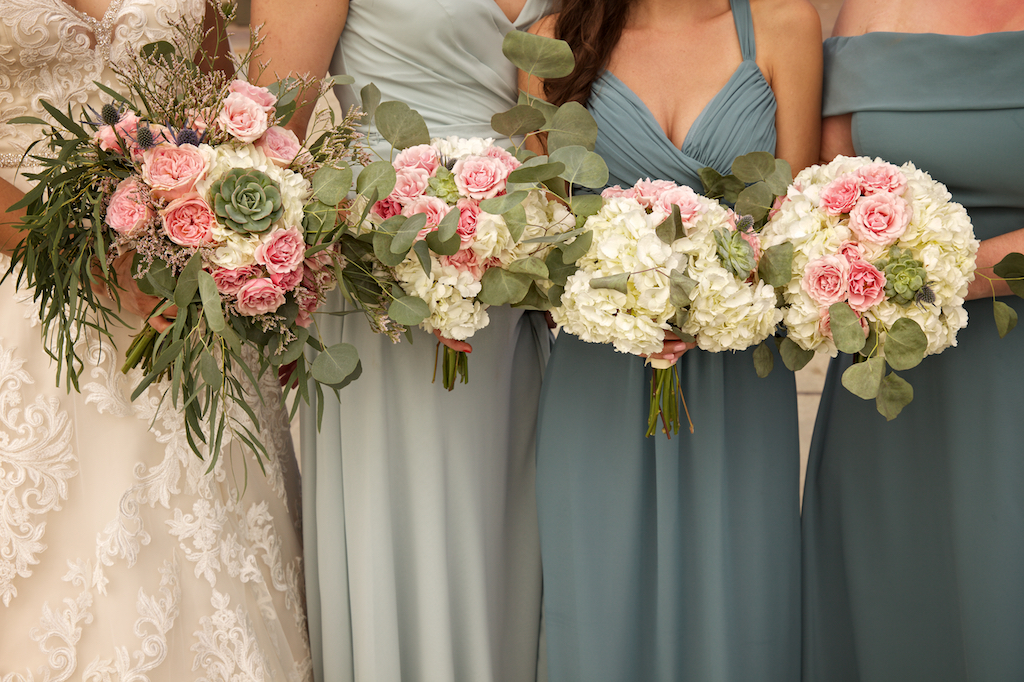 Bridal Party Bouquets by Darcy Oliver Design