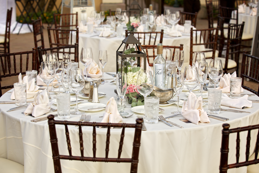 Dining Tables with Fruitwood Chiavari Chairs