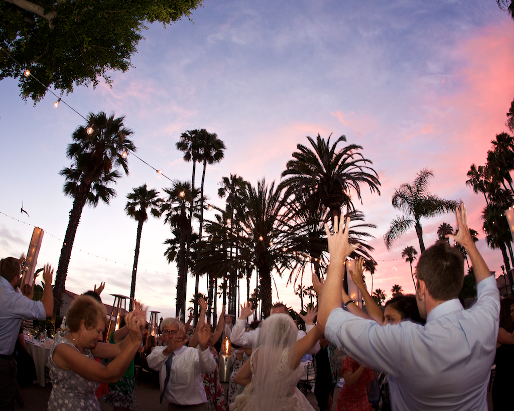 Sunset Dancing at the San Diego Mission Bay Resort